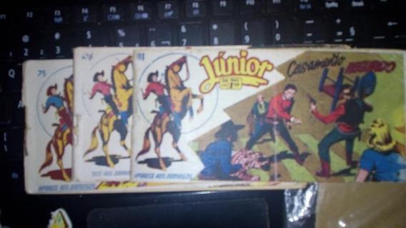 Junior Rge Tipo Tex Raro Original Faroeste Hq