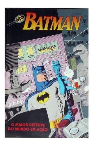 Batman 20 Dc Comics Abril Jovem 1991