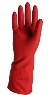 fecha de lanzamiento diseño exquisito mayor descuento Guantes Industriales Latex Rojo en Mercado Libre México
