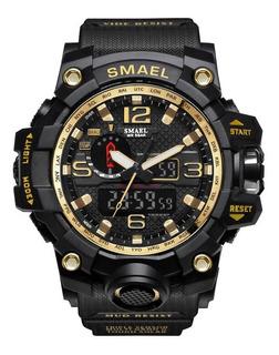 Reloj Smael Deportivo Militar Para Hombre