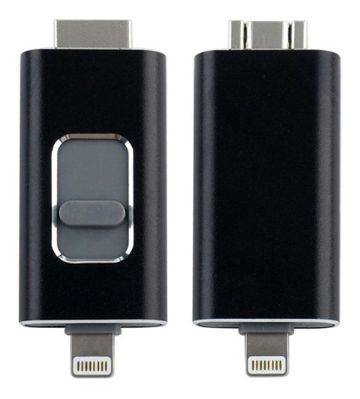 Pendrive 64gb Otg iPhone 5 5s 6 6s 7 8 X iPad Android Pc Mac