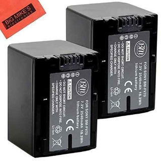 Bm Premium 2-pack De Pilas Np-fv70para Sony Fdr-ax53, Hdr-c