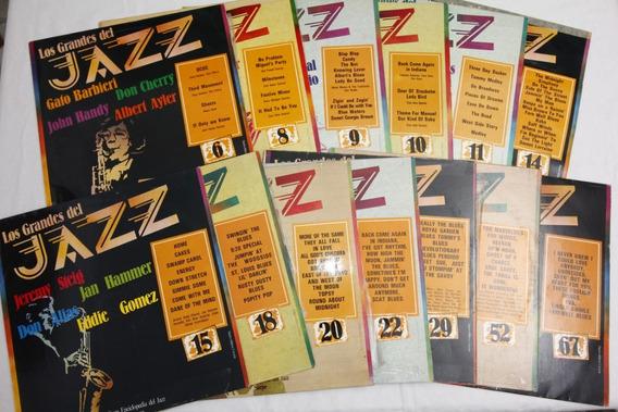 Vinilo Lote De 13 Discos Los Grandes Del Jazz 1980 España