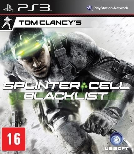 Splinter Cell Black List Português Ps3 - Midia Digital