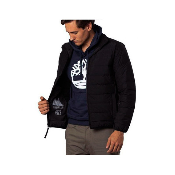 Chaqueta Timberland Bear Head Packable Down Jacket Negro Hom