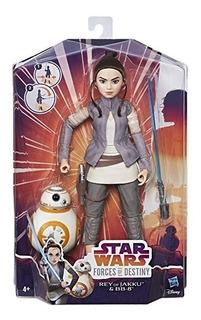 Star Wars Rey Of Jakku Y Bb8 Original
