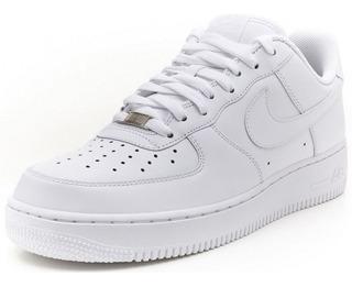 Tenis Nike Air Force One Blancas Para Hombre Y Mujer