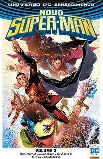 Novo Super-man: Renascimento - Volume 3 - Dc Comics