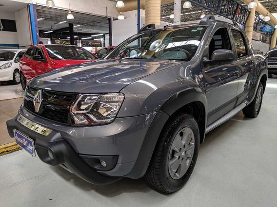 Renault Duster Oroch 2.0 Dynamique Cinza 2017 (automático)