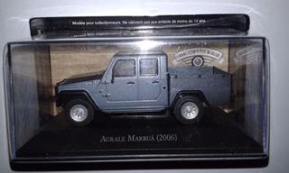 Miniatura Agrale Marruá 2006 - Escala 1/43