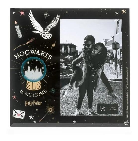 Porta Retrato Harry Potter Hogwarts É Meu Lar - Ludi