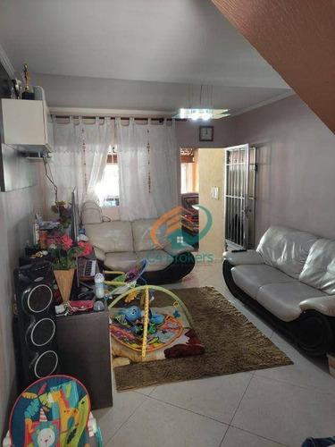 Sobrado Com 3 Dormitórios À Venda, 120 M² Por R$ 455.000,00 - Vila Melliani - Guarulhos/sp - So0746