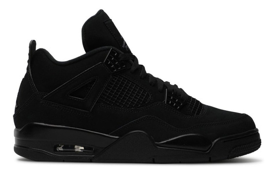 Tenis Air Jordan Retro 4 Black Cat Originales