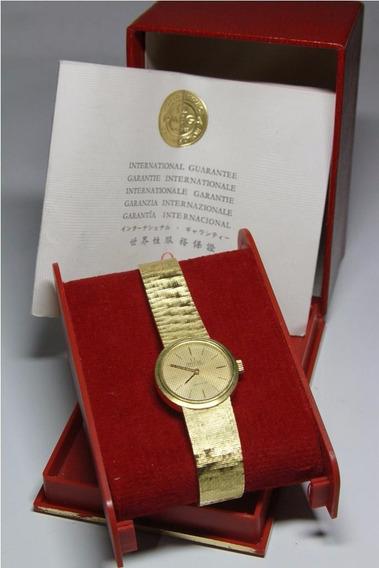 Relógio Omega De Ville Ouro Vintage