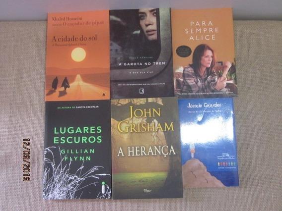 Lote Kit 6 Livros Romance Best-seller Literatura Estrangeira