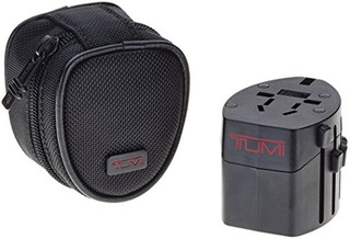 Tumi Luggage Electric Ballistic Adapter Black Pequeño
