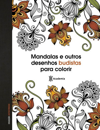 Mandalas Desenhos Budistas P/ Colorir Moldes Bordar Estampar