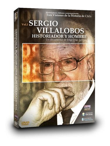 Imagen 1 de 4 de Dvd Documental  Sergio Villalobos: Historiador Y Hombre