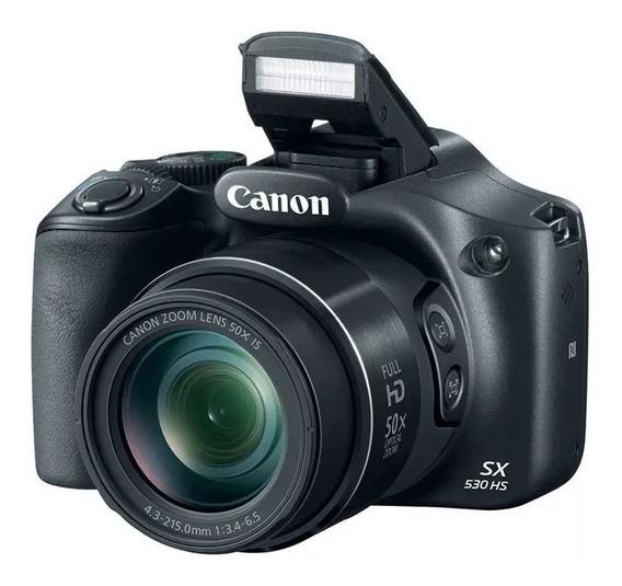 Camara Canon 16mpx Wi Fi Powershot Sx530 Sistema Hs Digic 4