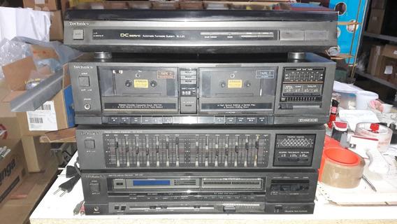 Conjunto Technics Gt40 C/cxs Originais Funcionando Não Envio