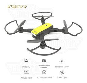Drone Fq777 Fq38 Clone Dji Spark + Câmera Wifi Vídeo Ao Vivo