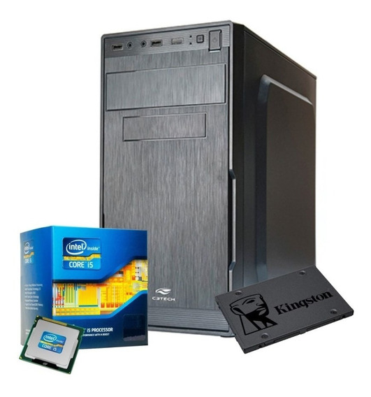 Pc Cpu Intel Core I5 3º3470 3,2ghz+16gbram+ssd 240gb +1tb Hd