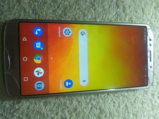 Celular Motorola Moto E5 32 Gb Tela Trincada Funcionando
