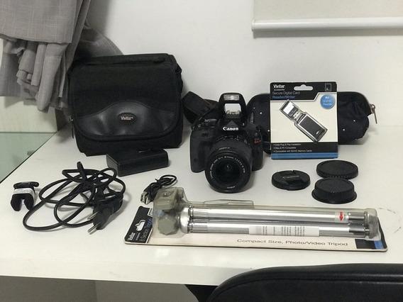 Câmera Canon Rebel Sl1