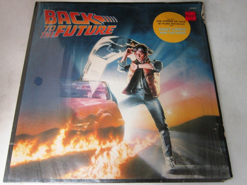 Back To The Future Soundtrack Lp