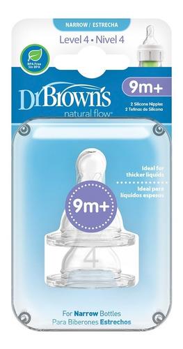 Chupo Dr Browns Nivel 4 Estándar Options X2 Und