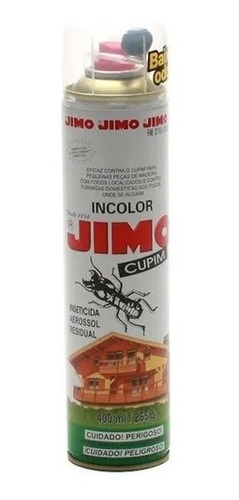 Anti Cupim Mata Cupim Jimo Inseticida Aerosol 400ml Original