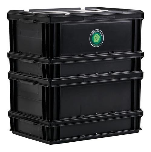 Imagen 1 de 7 de Compostera Urbana 80 Litros Greenheads + Manual + Lombrices