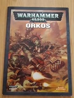 Warhammer 40k Codex Orko 6ta.