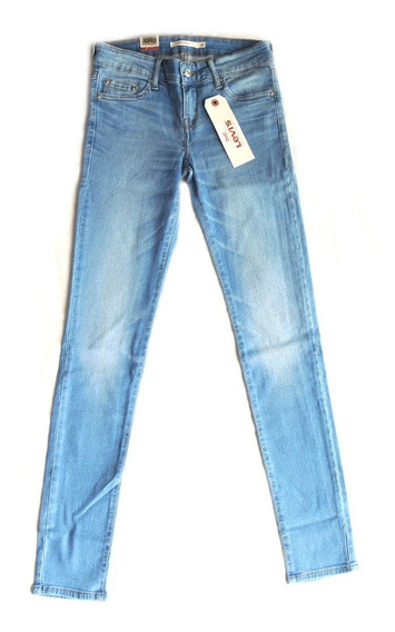 Calça Levis Jeans Feminina 711 Skinny Azul Loja Autorizada