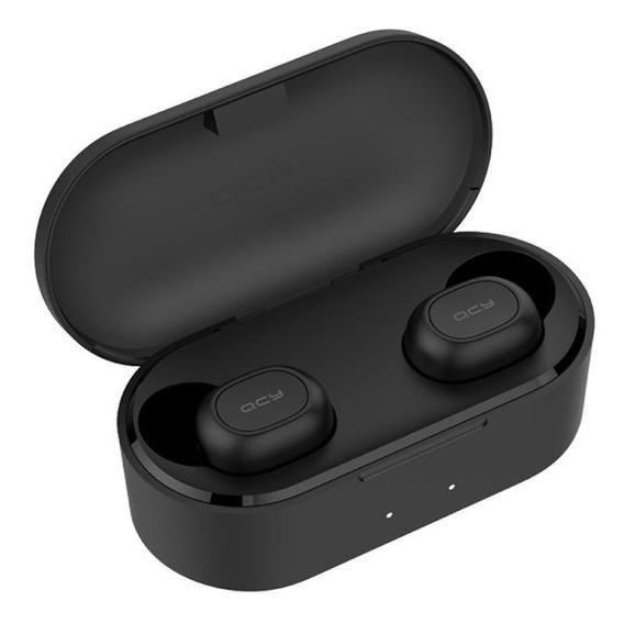 Fone de ouvido inalámbricos QCY T2C preto