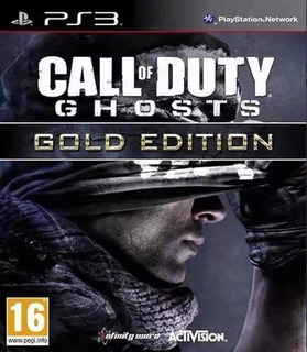Call Of Duty Ghosts Ps3 Gold Edition En Español