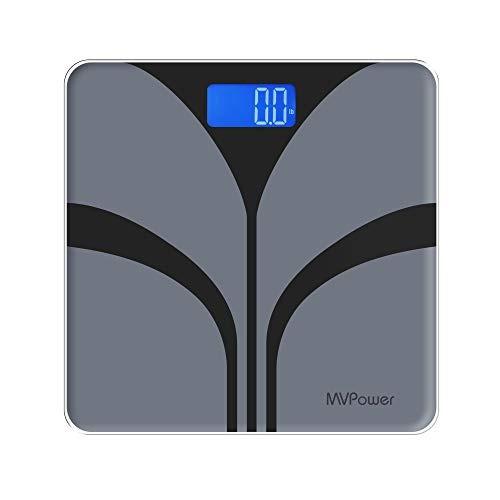Mvpower Báscula Digital De Peso Corporal Báscula De Baño C