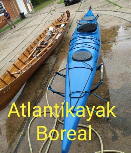 Kayak Atlantikayak Boreal + Salvavidas T. S + Pala Aluminio