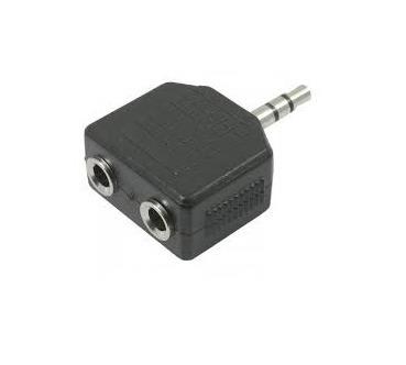 Kit 10 Unid. Adaptador P2 Stereo Macho P/ 2 P2 Femea J2