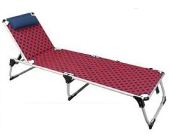 Espreguiçadeira Cadeira Dobrável De Praia Piscina Em Varanda