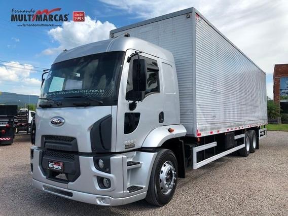 Ford Cargo 2428 - Baú De 10m