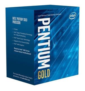 Procesador 3,7ghz Intel Pentium Gold G5400 Dual-core Lga1151