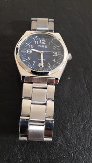 Reloj Marca Time De Quartz .metal
