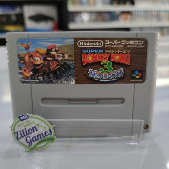 Super Donkey Kong 3 - Super Famicom Nintendo Original