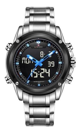 Relógio Masculino Naviforce Digital Analógico Original