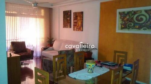 Imagem 1 de 30 de Apartamento Residencial À Venda, Ingá, Niterói. - Ap0180