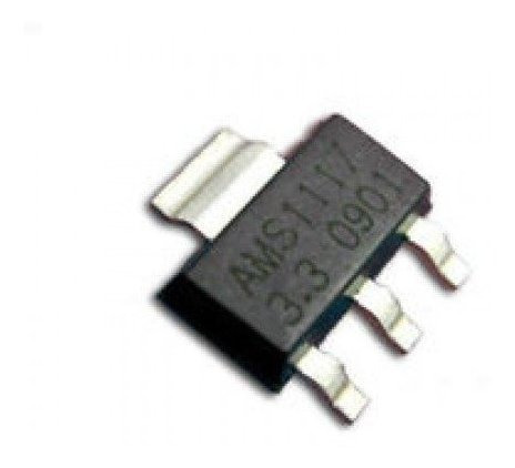 Regulador De Voltaje Ams1117 Lm1117 Fijo 3v3