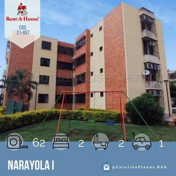 Apartamento En Venta En Maracay, Naroyola 21-867 Scp