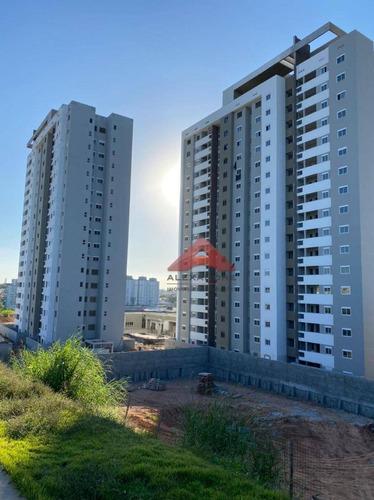 Imagem 1 de 10 de Apartamento Com 3 Dormitórios À Venda, 100 M² Por R$ 425.000,00 - Vila Industrial - São José Dos Campos/sp - Ap4174