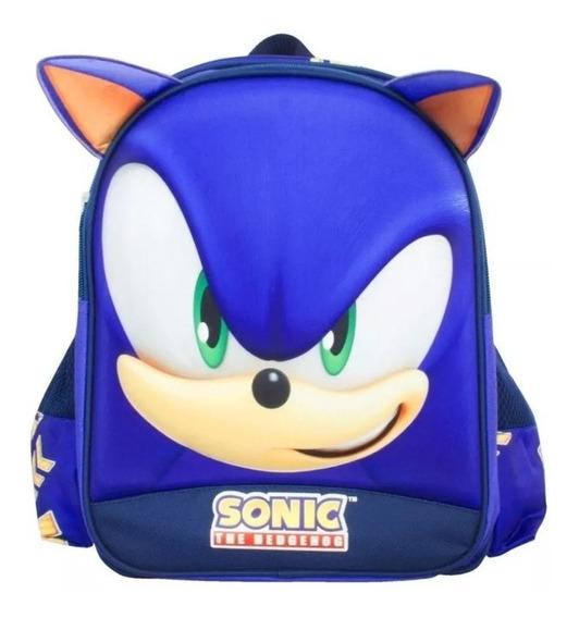 Mochila Sonic Kinder Backpack Tz232